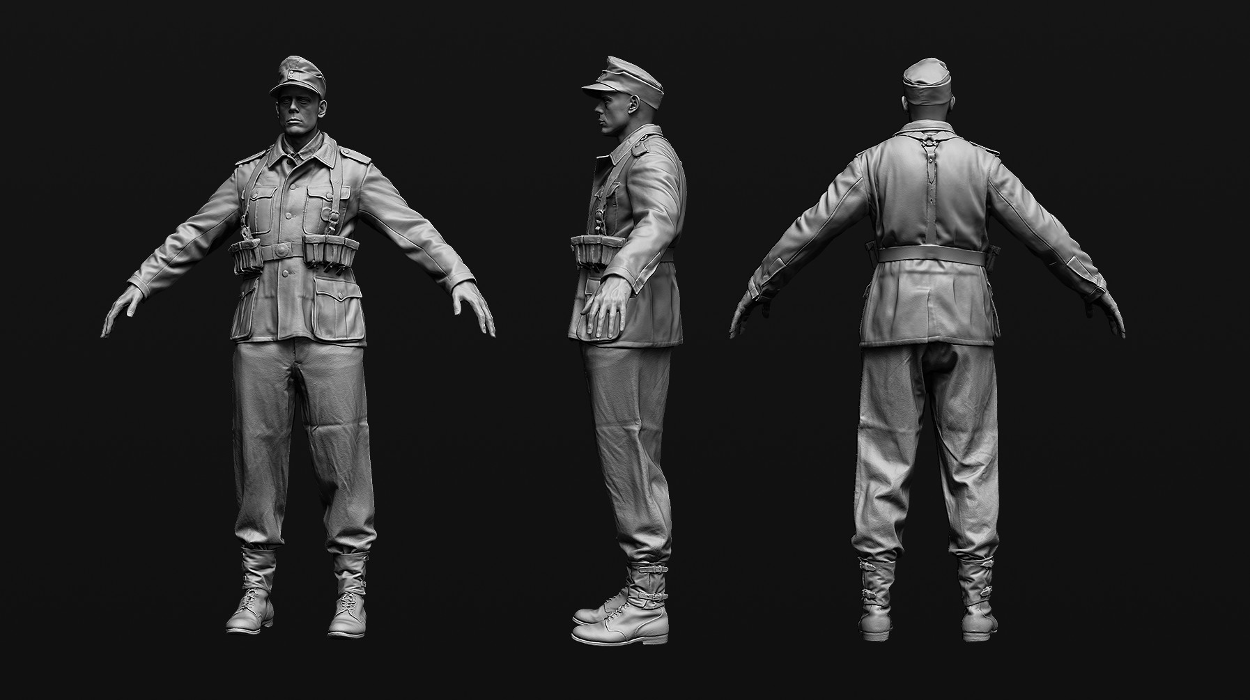 Stirling rank wehrmacht zbrush tt