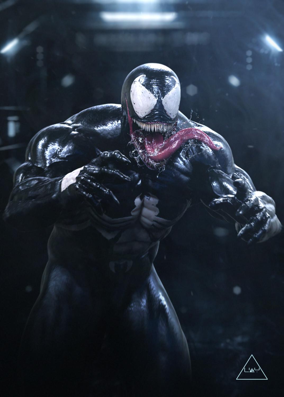 Como Dibujar A Venom Cuerpo Completo
