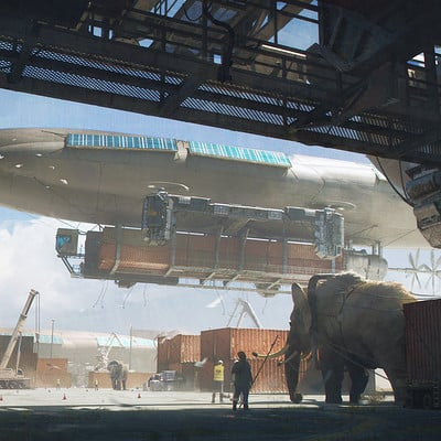 Julien gauthier airport concept final