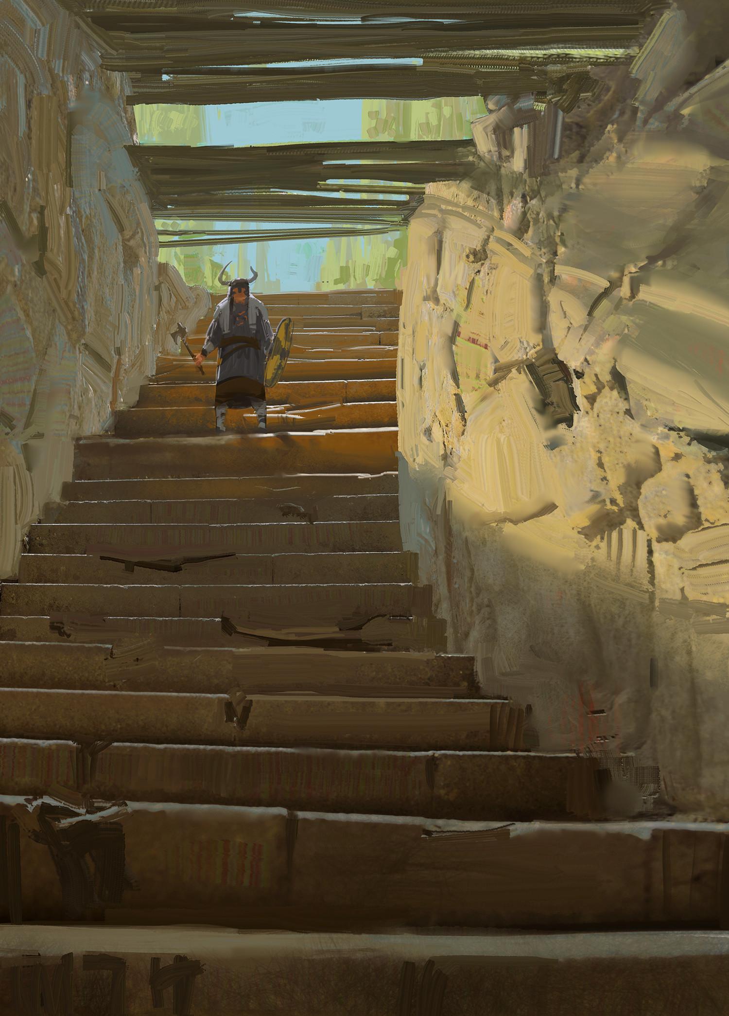 Jad saber stairs sketch