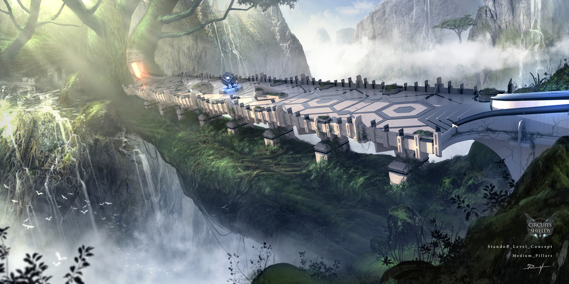 Daniel pellow grand tree gorge level concept 3 3 m pillars final 2