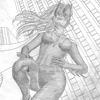 Diego mendes now 2016 08 16 pin up batwoman kate kane p diego mendes