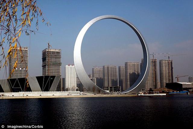 Shenfu Ring of Life - finished build, Shenfu, China