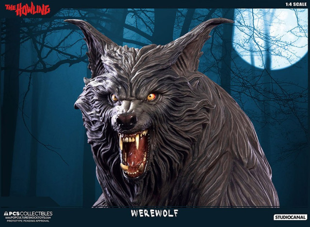 Jesse sandifer the howling 14 scale statue by pop culture shock 9