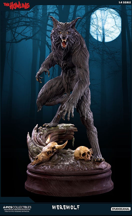 Jesse sandifer the howling 14 scale statue by pop culture shock 4