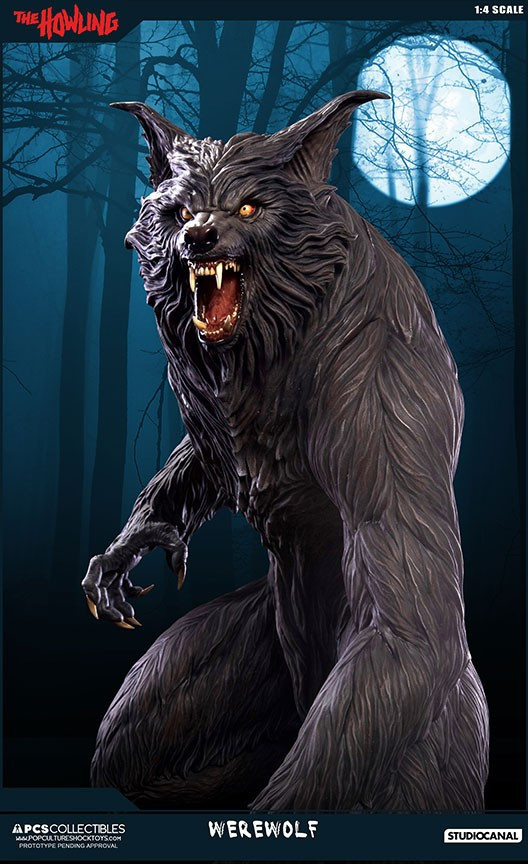 Jesse sandifer the howling 14 scale statue by pop culture shock 6