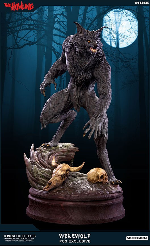 Jesse sandifer the howling 14 scale statue by pop culture shock 12
