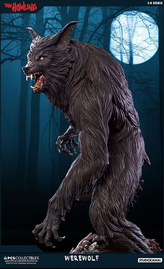 Jesse sandifer the howling 14 scale statue by pop culture shock 14