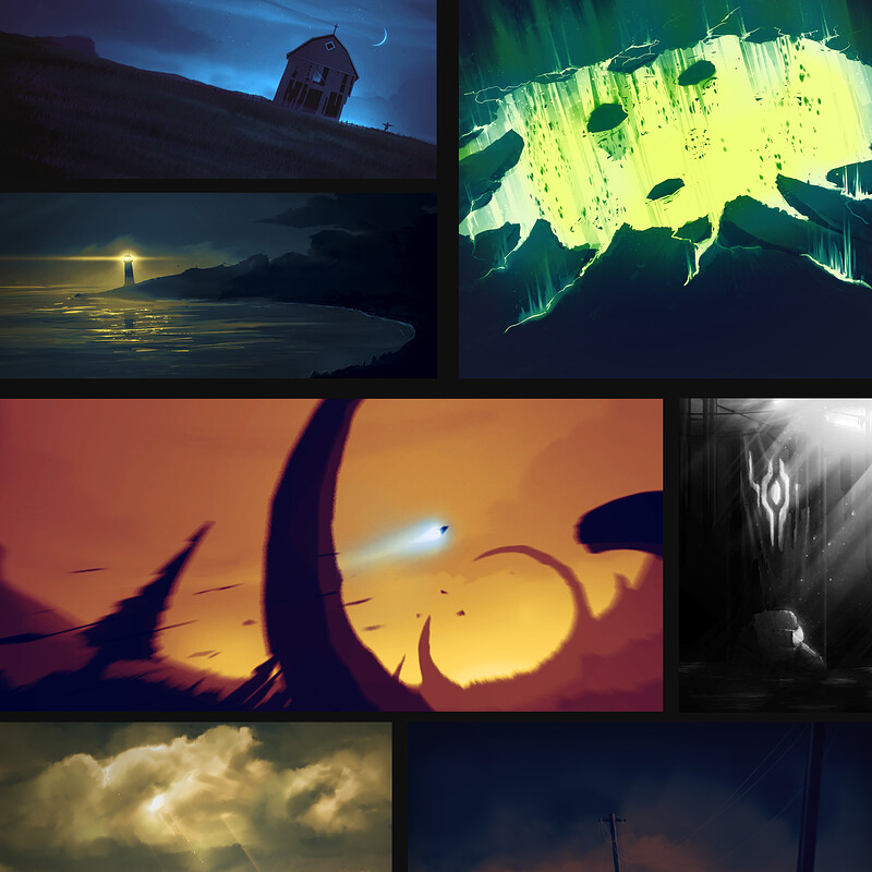 Speed Paintings