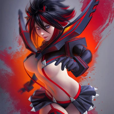Warren louw ryuko matoi by warren louw