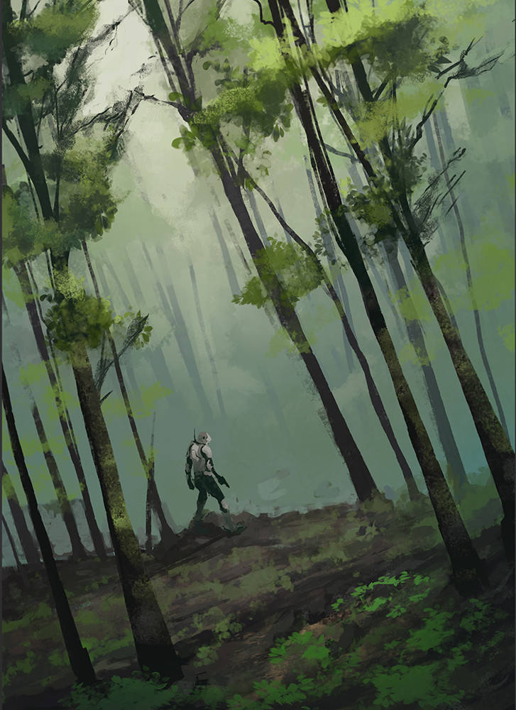 Daily speedpaint 04, Where the heck am I?