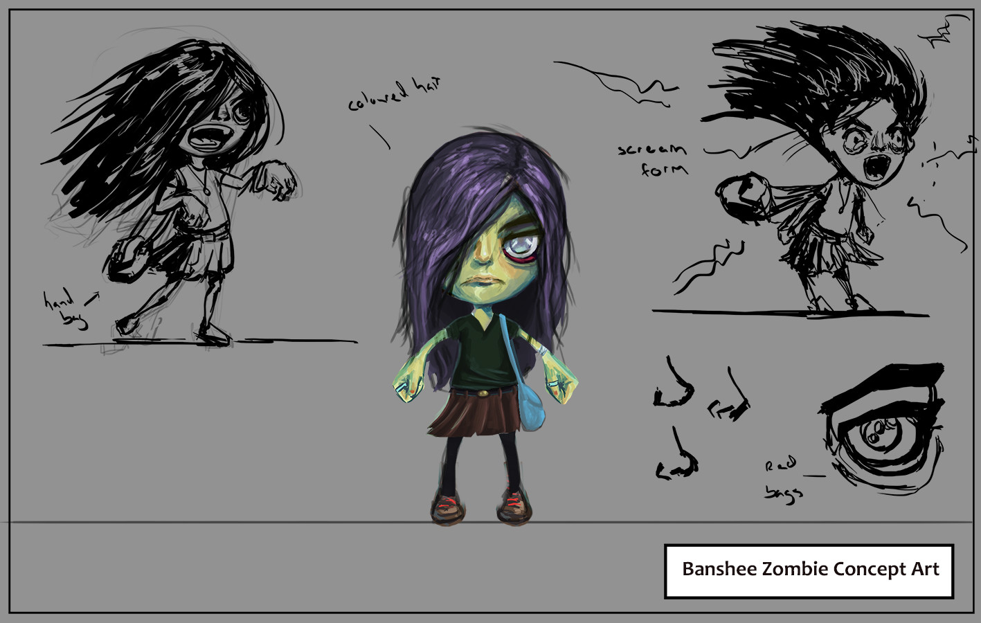 Banshee rough designs