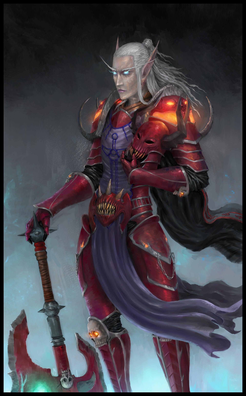 Váradi Paszkál - Commission: Generic World of Warcraft avatar