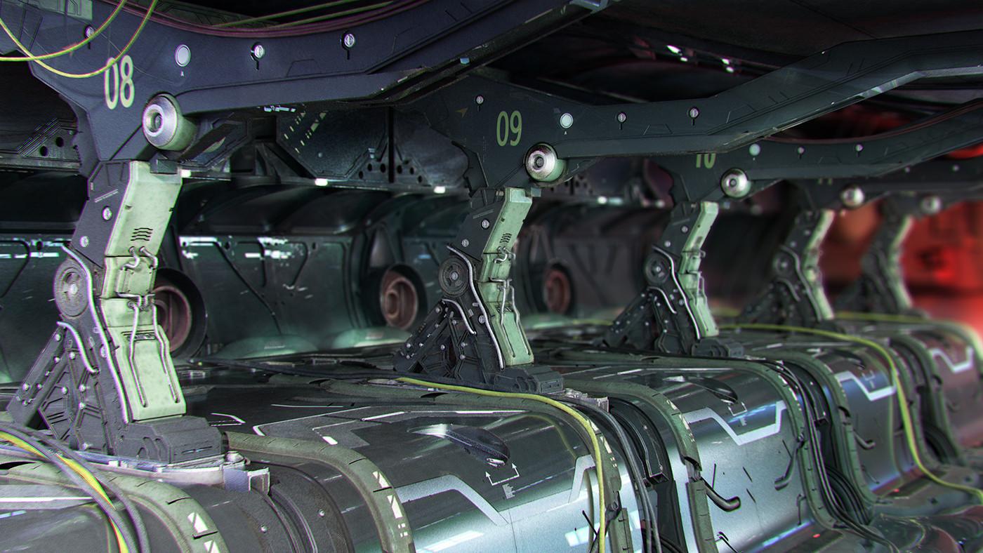 Gundam Industrial Room