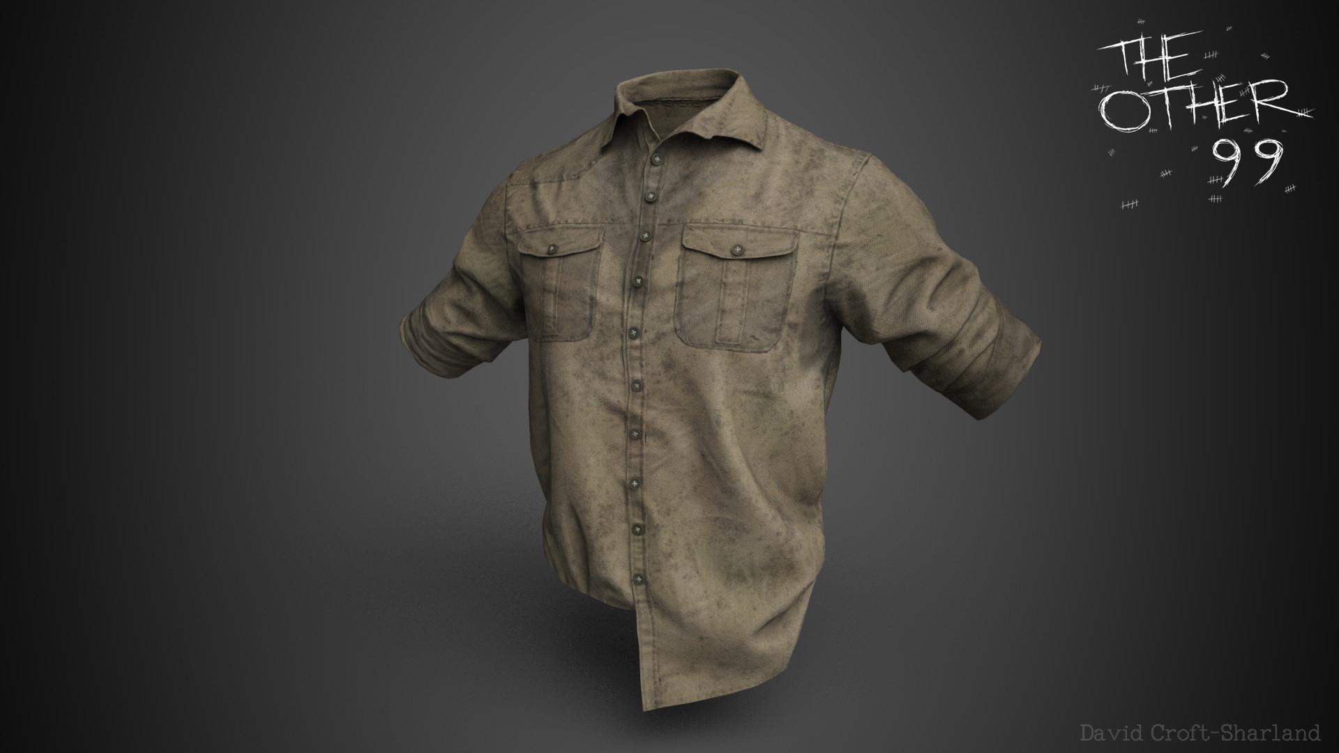 David croft sharland shirt