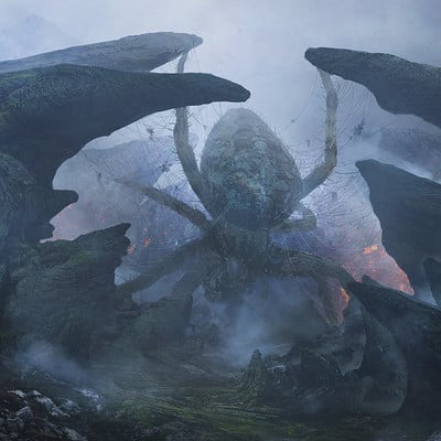 Allen wei volcano spider