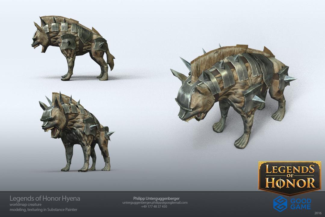 Hyena creature for worldmap