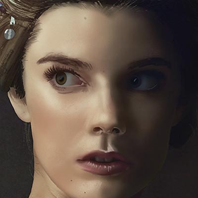 Salvatore riniolo digital painting final portrait 06