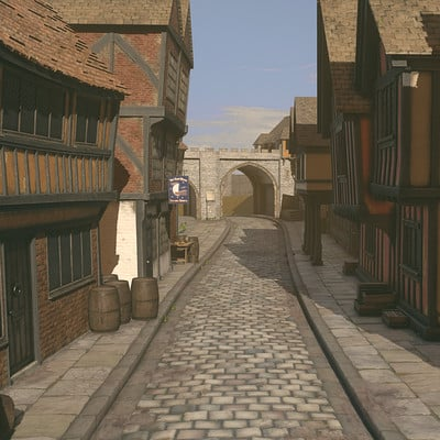 Alex voysey tudorstreet with splatmaps