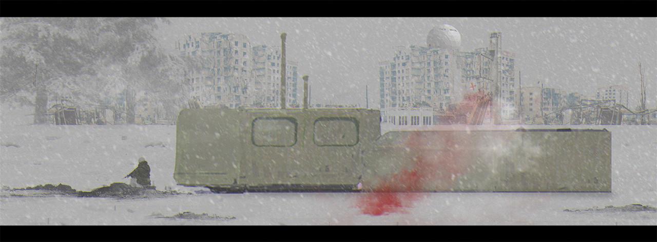 snow sketch