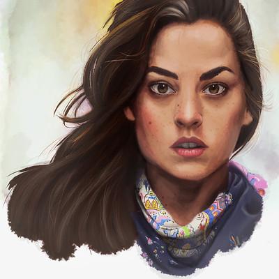 Paige walshe portrait attempt 7