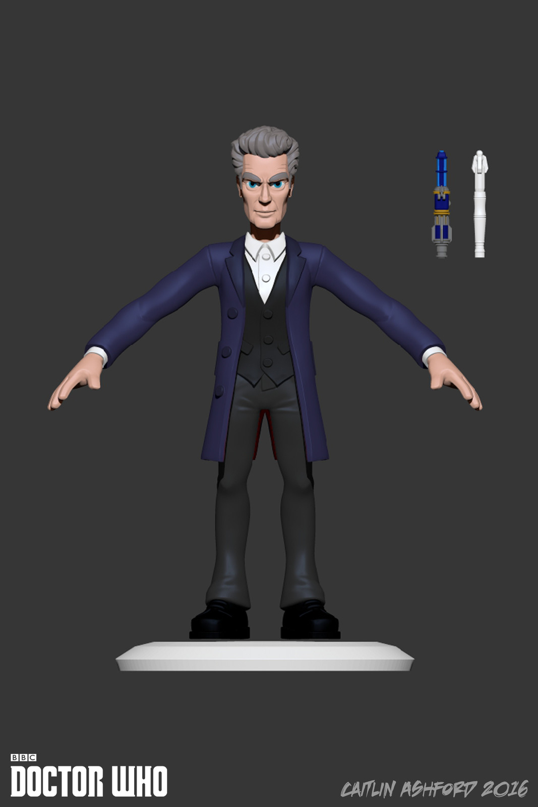 Decided my Capaldi wasn't Capaldi enough so I updated the tpose design,