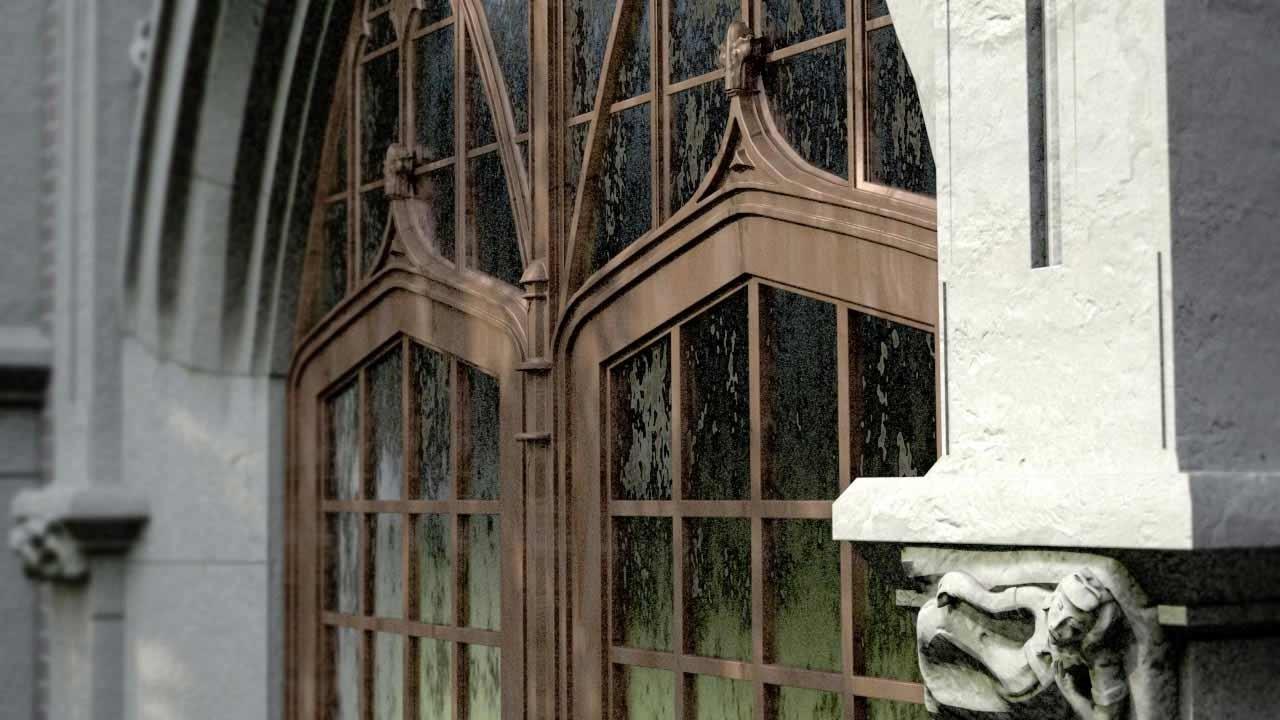 Alan jacobson 3d architecture uofm marthacook doorway2