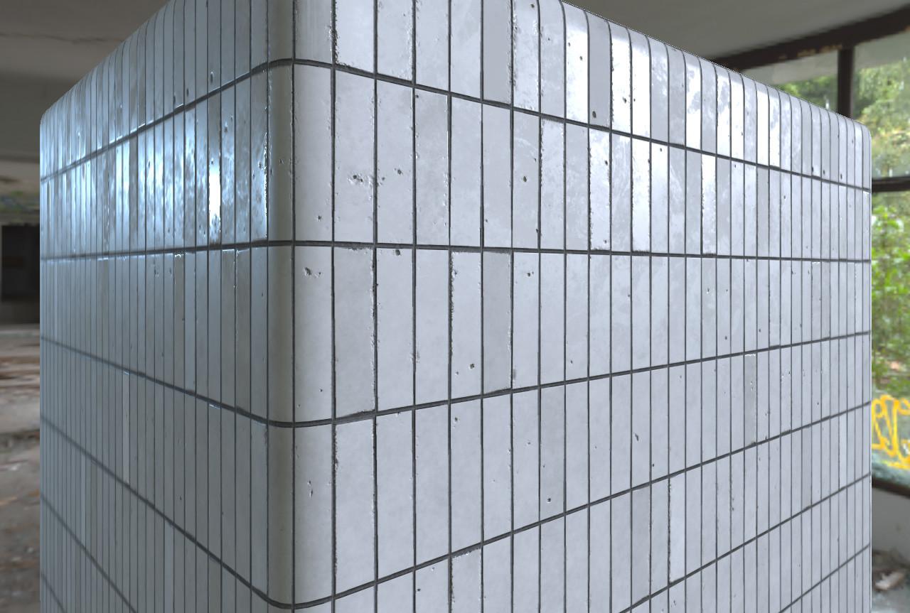 ArtStation - Ceramic Wall Tiles, Spencer Rose