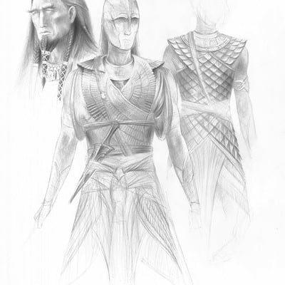 Turner mohan noldor armor concepts