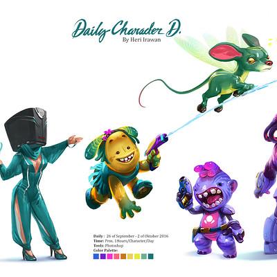 Heri irawan daily character design01