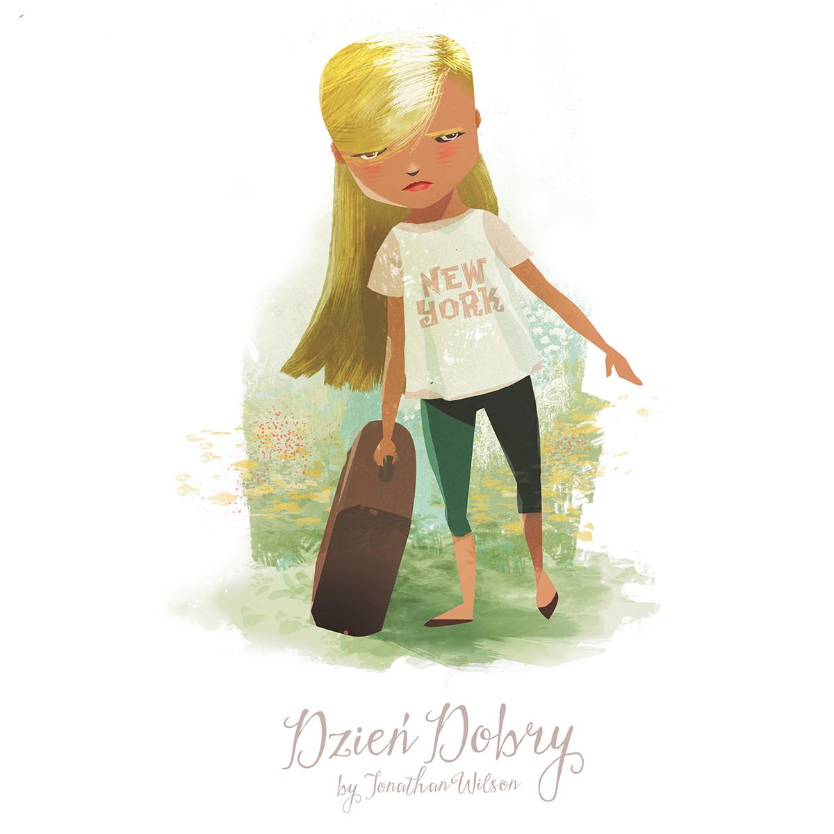 Dzien Dobry Character Design
