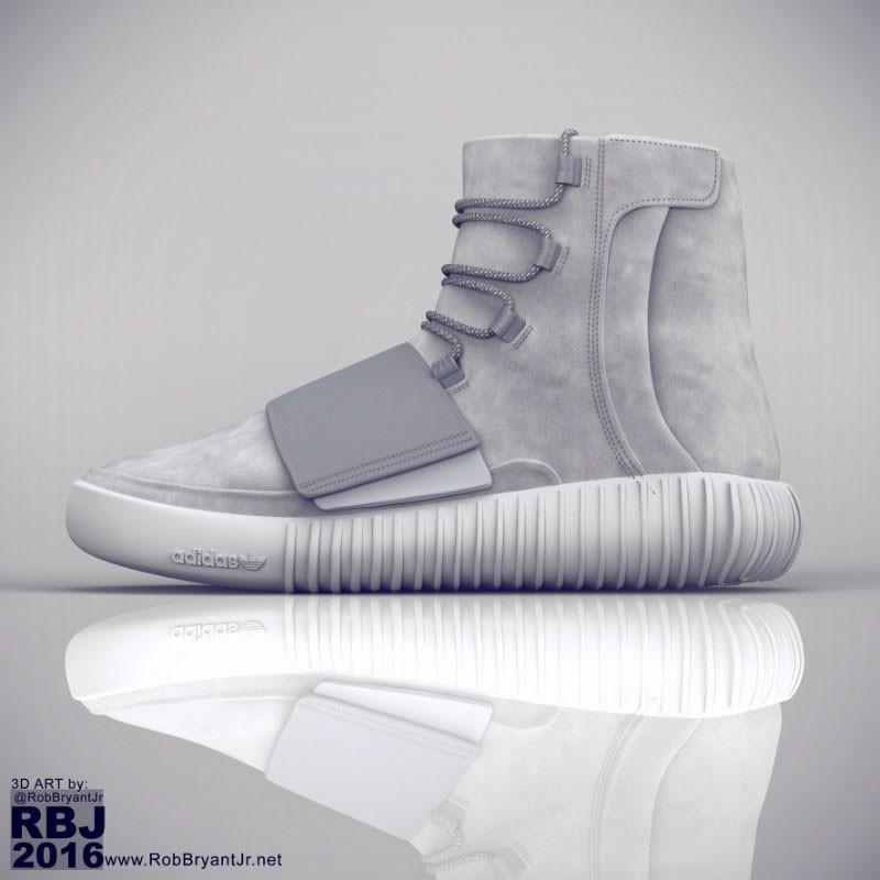 brand new 5cfb0 0f0cc ArtStation - Adidas Yeezy Boost 750 | CGI Breakdown, Rob ...