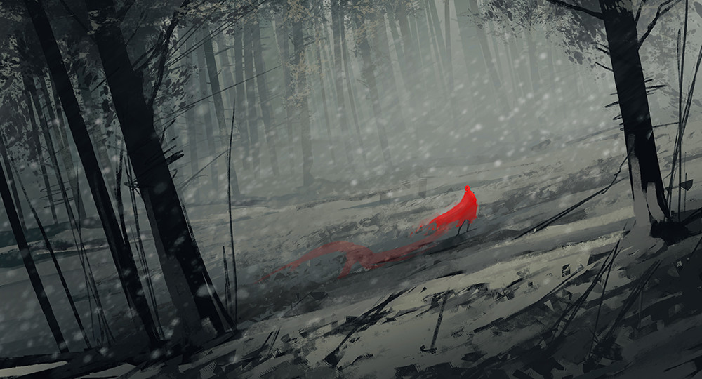 Daily speedpaint 06, Little Red Riding Hood