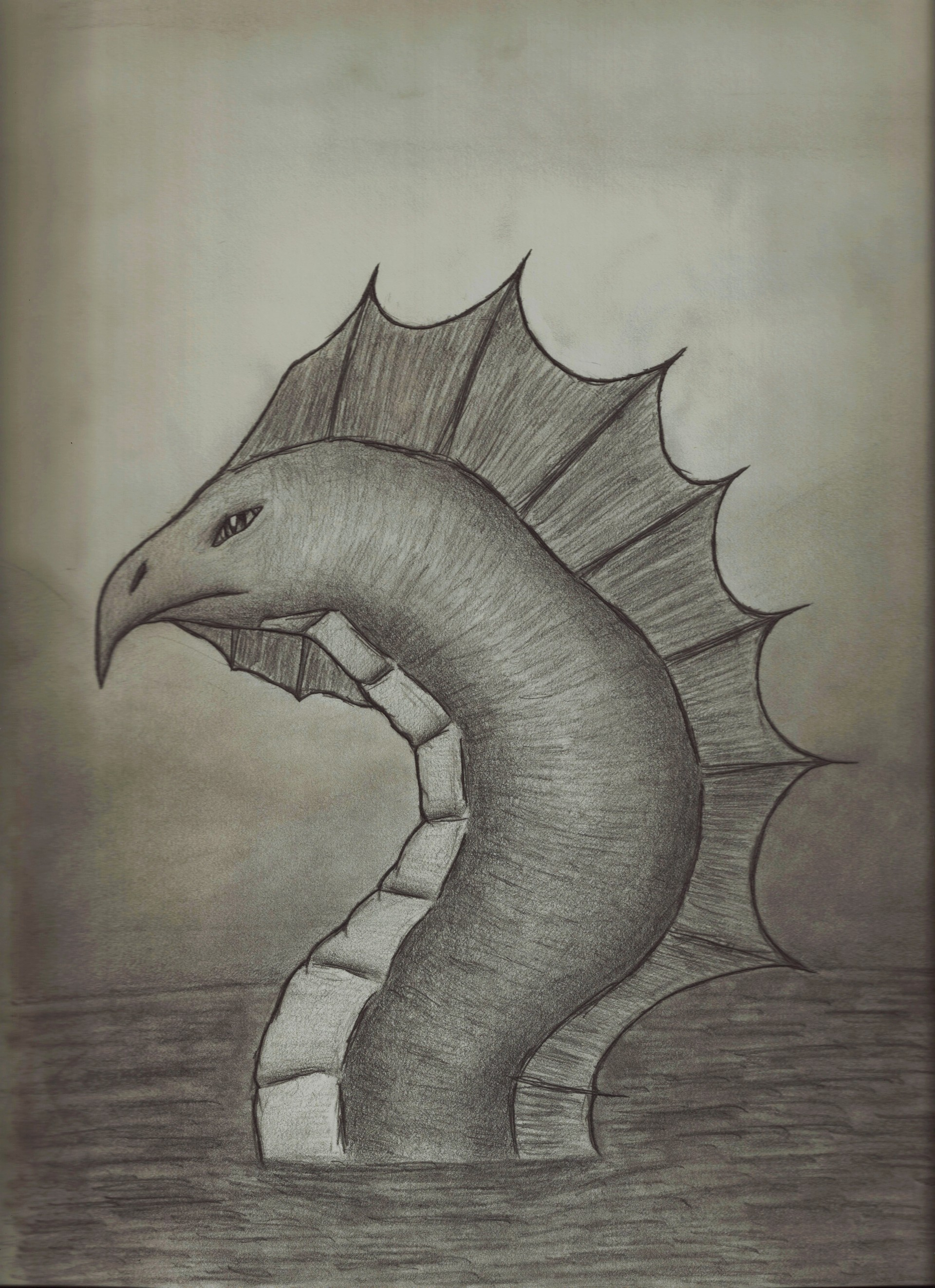 Real Giant Sea Serpent