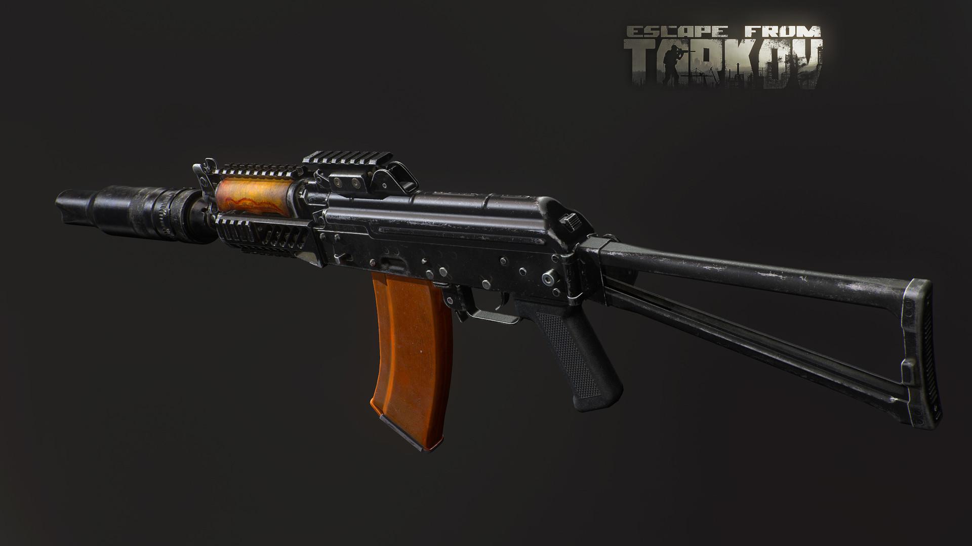 Vadim Spiridonov - AKS-74U for Escape From Tarkov