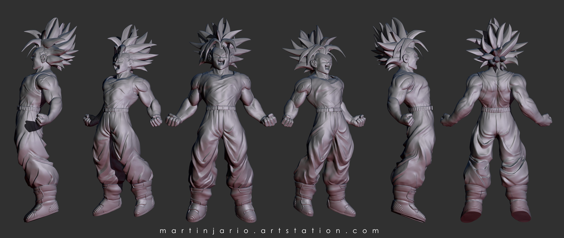 clay views Zbrush