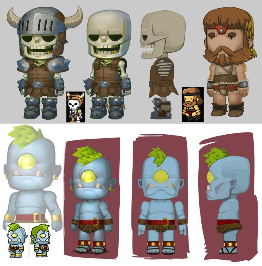 Converting and detailing previous generation of ScribbleNauts designs for pre-production.