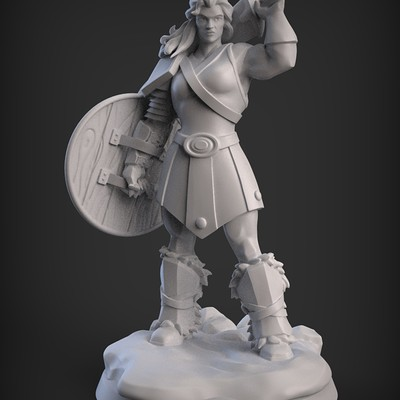 William pitzer barbarian render 40