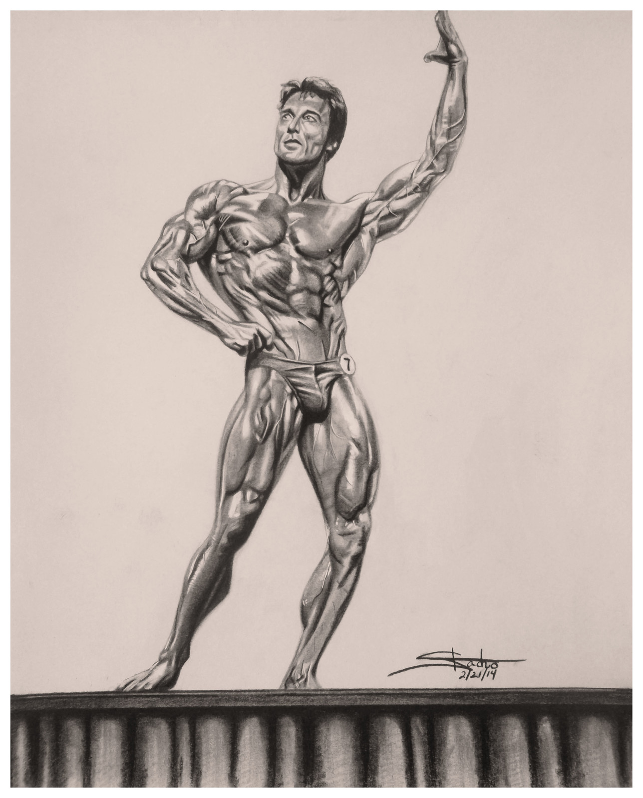 Frank Zane the Chemist.