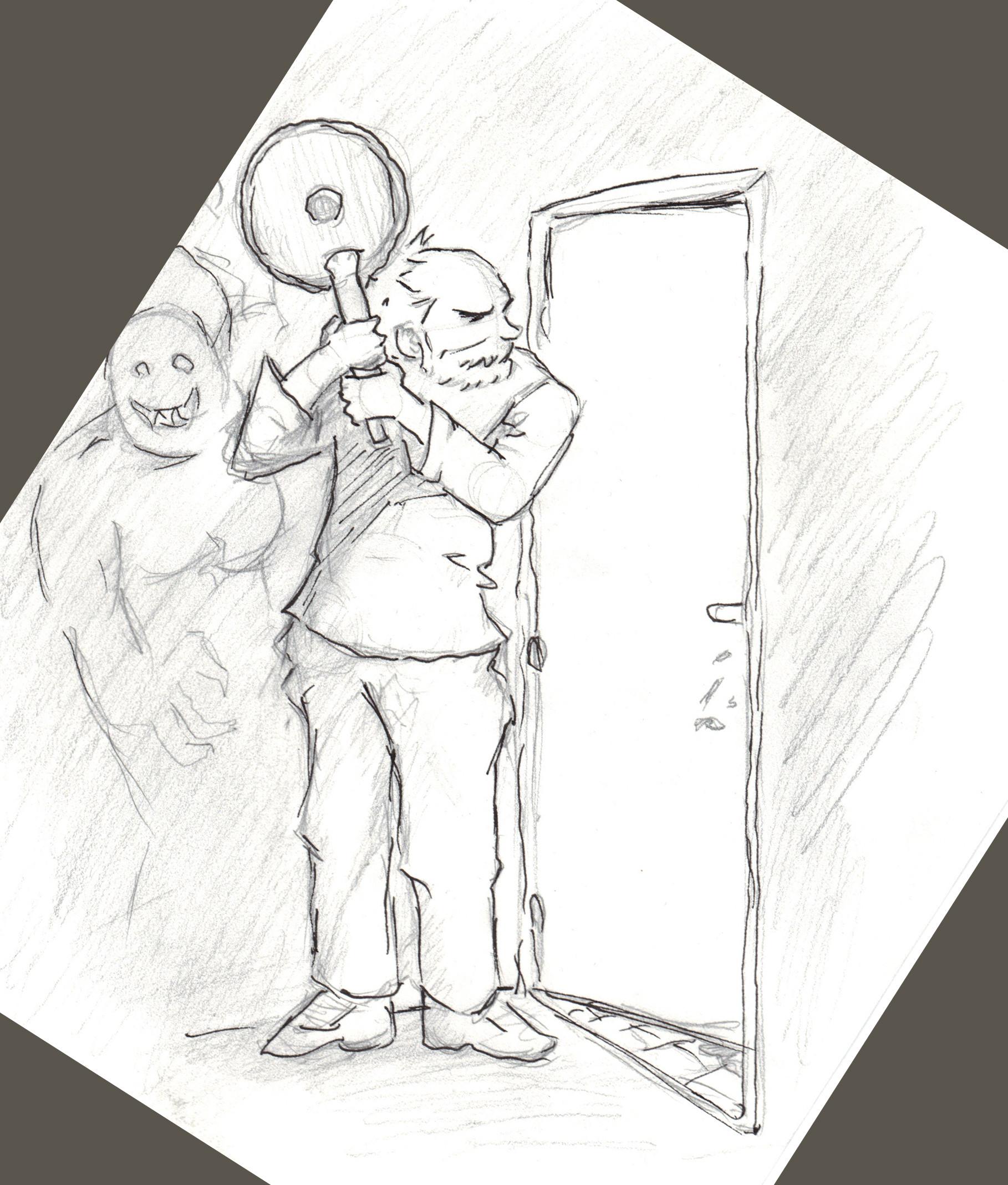 Concept for a comic idea