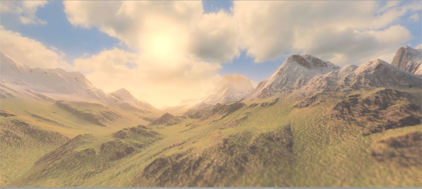 ArtStation - Shader for Procedural Mountain and Skybox
