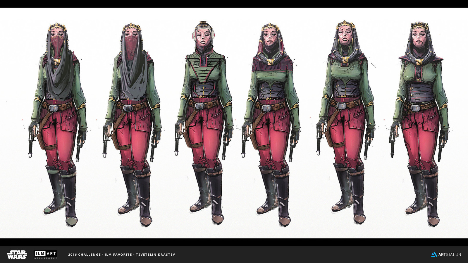 ILM Art Department Challenge - Danji Princess