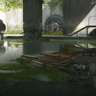 Simeon schaffner sewer entrance