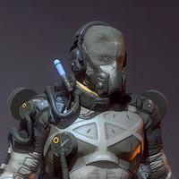 ArtStation - Metal Gear Solid V: The Phantom Pain - Parasite