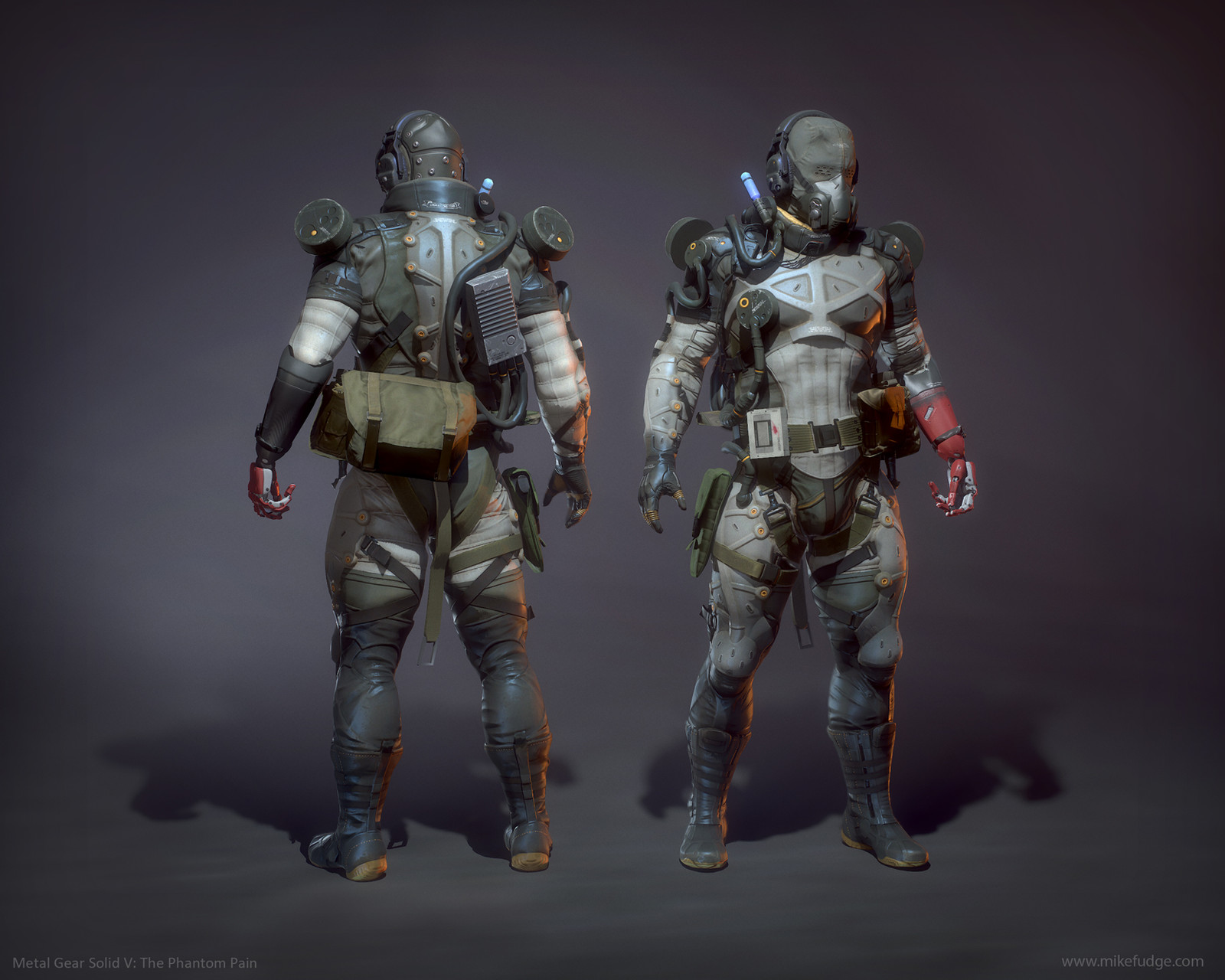 Metal Gear Solid V: The Phantom Pain - Snake Parasite Suit