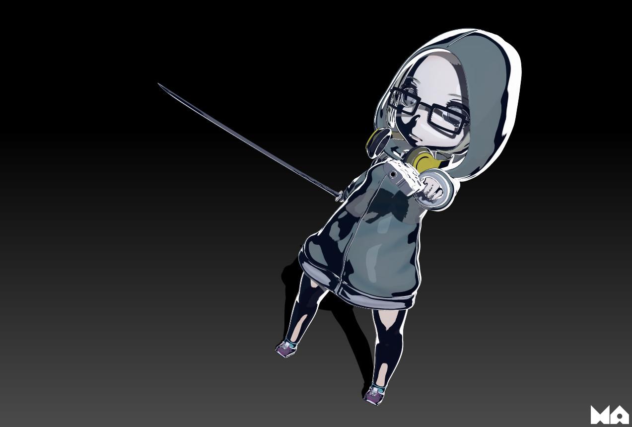 Masatomo suzuki hoodedgirl 03