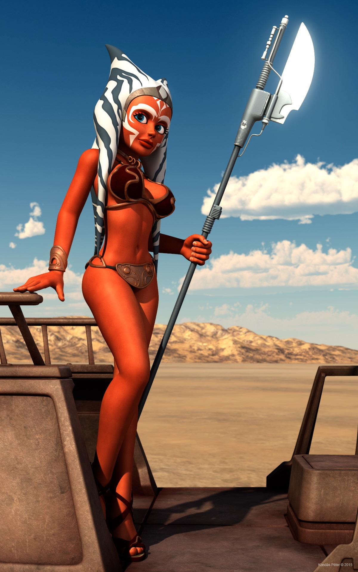 Star wars ahsoka tano nackt sexy submissive girl