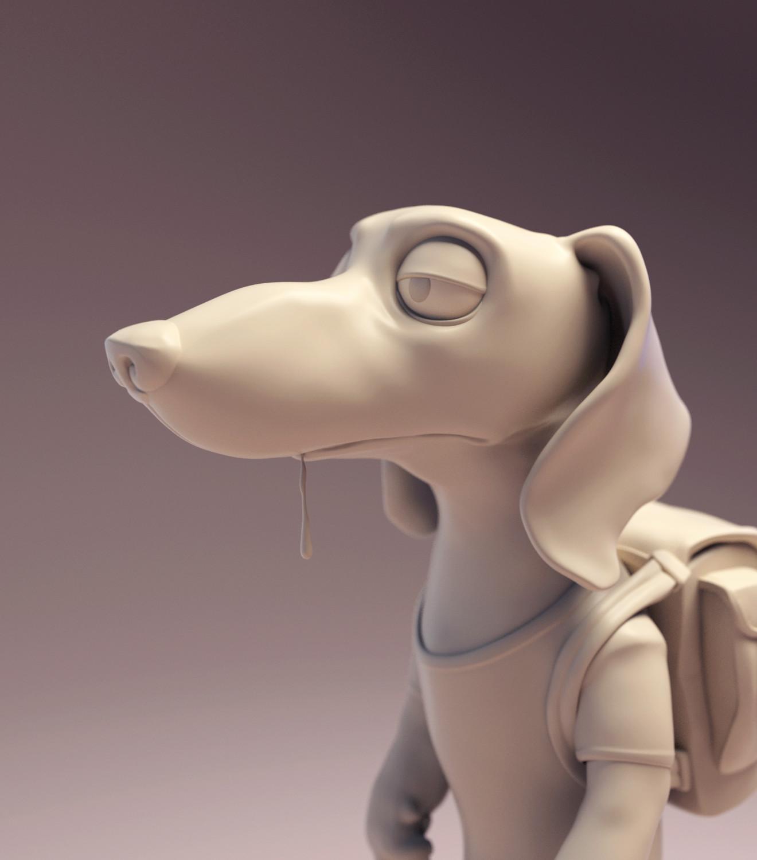 Javier diaz weinerdog roseclay face 01