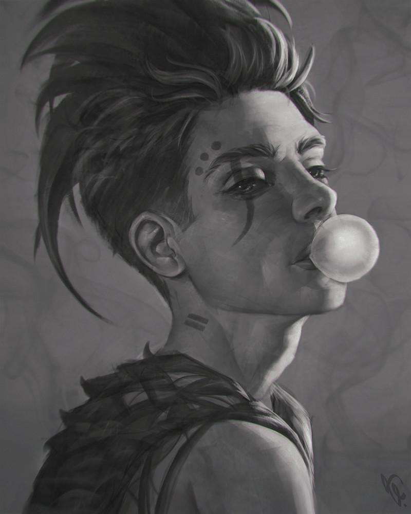 Angel ganev bubble gum 123 by angelganev dak6uff