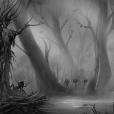 Alexander skachkov forest scene 2